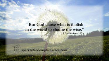 1 Corinthians 1-27a 2